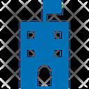 Institute Building School College Icon
