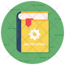 Guide Booklet Instruction Book Manual Text Icon