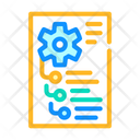 Mechanism Instruction Paper Icon
