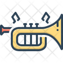 Instrument Trumpet Musical Instrument Icon