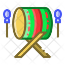Instrument Mosque Drum Eid Icon