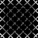 Insulation Grid Plywood Icon