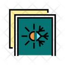 Summer Winter Insulation Icon