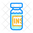 Insulin Medicament Bottle Icon