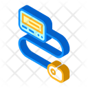 Insulin Pump Isometric Icon