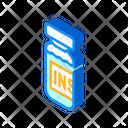 Insulin Medicament Bottle Icon