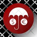 Insurance Dollar Monet Icon
