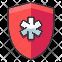 Insurance Medical Shield Icon