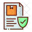 Insurance Delivery Insurance Delivery Paper Icon