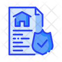 Insurance Property Insurance Insurance Paper Icon