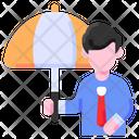 Insurance Employee Buke Icon