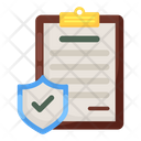 Privacy Policy Data Policy Document Protection Icon