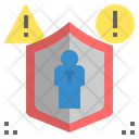 Insurance Risk Protect Icon
