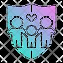 Insurance Wellness Shield Icon
