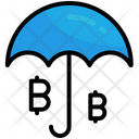 Insurance Protection Umbrella Icon
