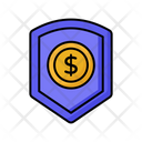 Insurance Dollar Security Dollar Protection Icon