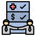 Insurance Agent Agreement Icon