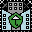 Insurance Company Business Broker Icon