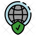 Insurance Coverage Protection Shield Icon