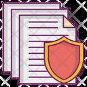 Files Paper Trust Deeds Icon
