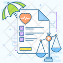 Insurance Law Medical Law Insurance File Icon