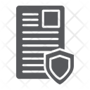 Security Document Privacy Icon