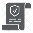 Policy Document Contract Icon