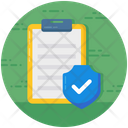 Insurance Policy Insurance Document Confidential Document Icon