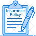 Insurance Policy Agreement Confidential Document Icon