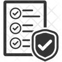 Document Insurance Protection Icon