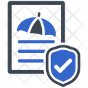 Insurance Policy Protection Icon