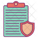 Insurance Protection Save Icon
