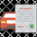 Insured Car Car Insurance Auto Insurance Icon