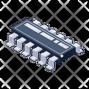 Ic Circuit Ic Electric Circuit Icon