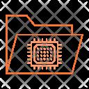 Micro Chip Folder Icon