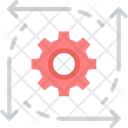Integration Data Management Consolidation Icon