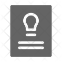 Intellectual Property License Icon