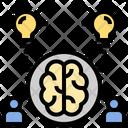 Intellectual Teamwork Idea Icon