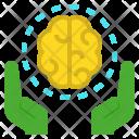 Intellectual Brain Intelligent Icon