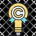 Intellectual Property Law Legal Icon