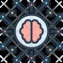 Intelligence Linguistic Machine Icon