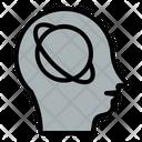 Intelligence Artificil Head Icon