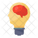 Intelligence Innovative Brain Logical Thinking Icon
