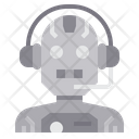 Intelligence Assistance Personal Assistance Robotics Icon