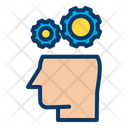 Brain Business Gears Icon