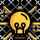 Intelligent Creativeidea Creative Mind Icon