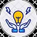 Intelligent Energy Control Control Efficiency Icon