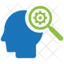 Intelligent Search Idea Business Icon