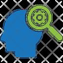 Intelligent Search Idea Business Icon