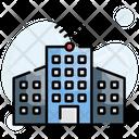 Buildings City Intelligent Icon